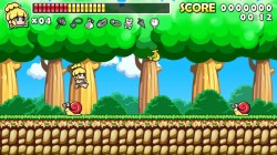 Screenshot for Wonder Boy Returns Remix - click to enlarge