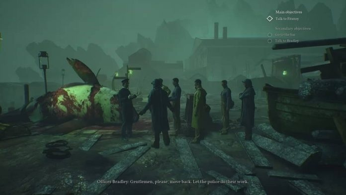 Screenshot for Call of Cthulhu on Nintendo Switch