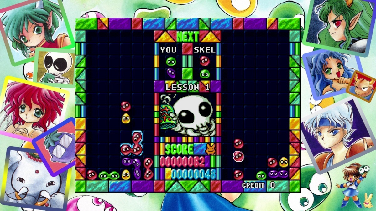 Screenshot for SEGA AGES Puyo Puyo on Nintendo Switch