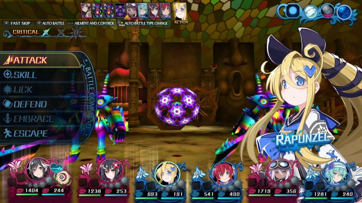 Screenshot for Mary Skelter 2 on Nintendo Switch