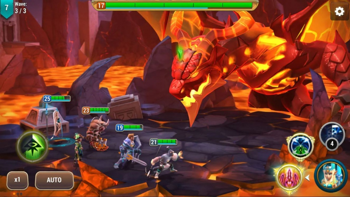 Screenshot for Might and Magic: Elemental Guardians on iOS