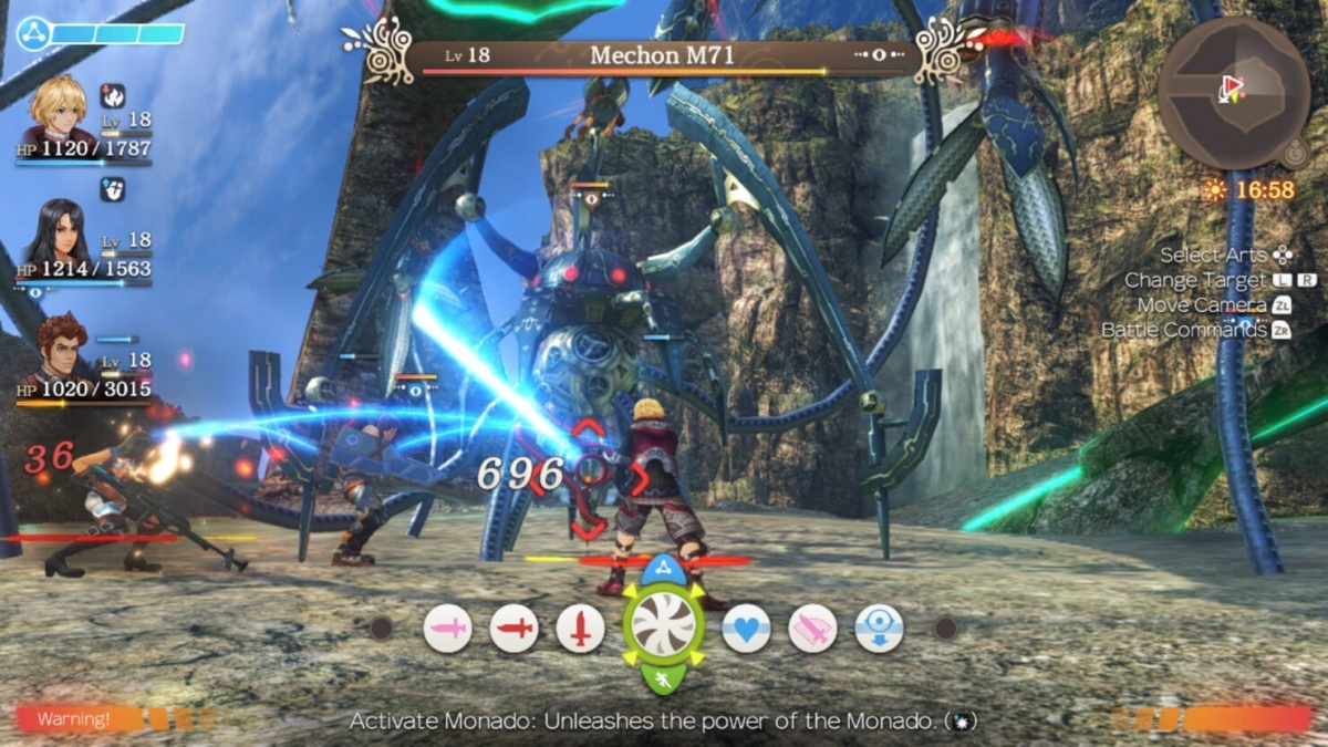 Screenshot for Xenoblade Chronicles: Definitive Edition on Nintendo Switch