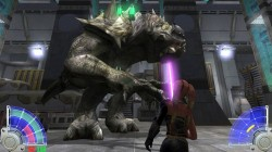 Screenshot for Star Wars Jedi Knight: Jedi Academy - click to enlarge