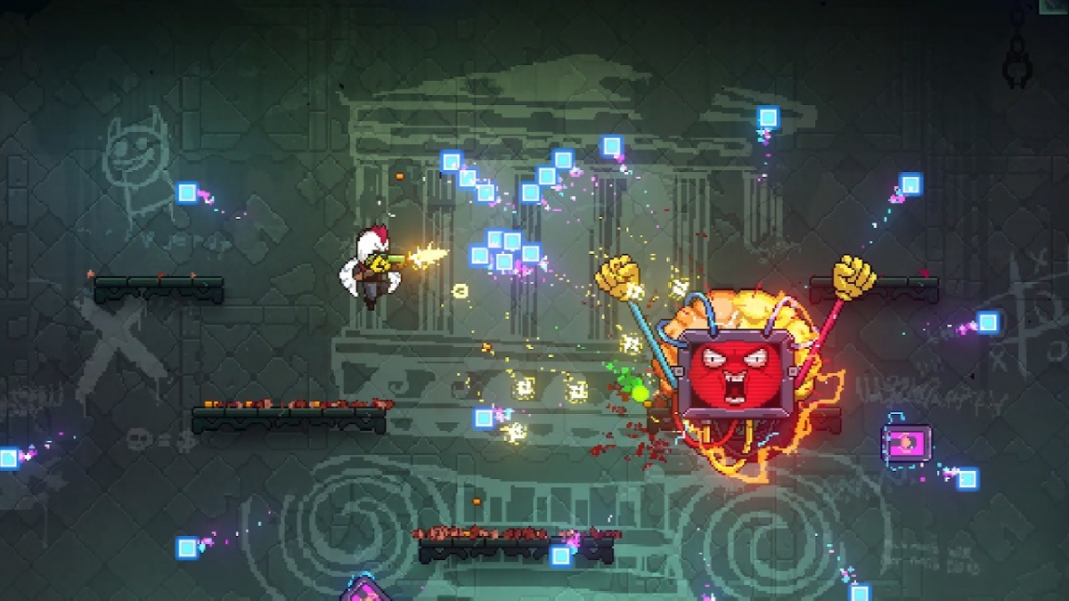 Screenshot for Neon Abyss on Nintendo Switch
