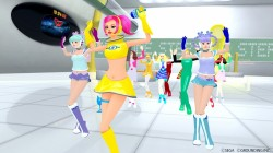 Screenshot for  Space Channel 5 VR: Kinda Funky News Flash - click to enlarge