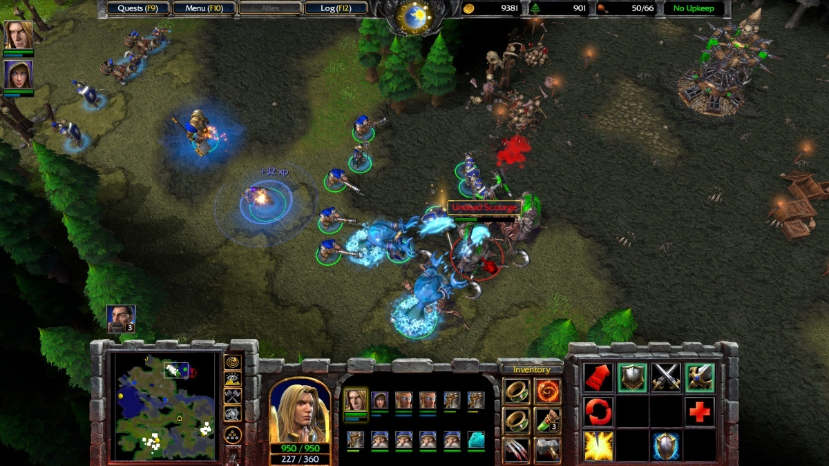 Screenshot for Warcraft III: Reforged on PC