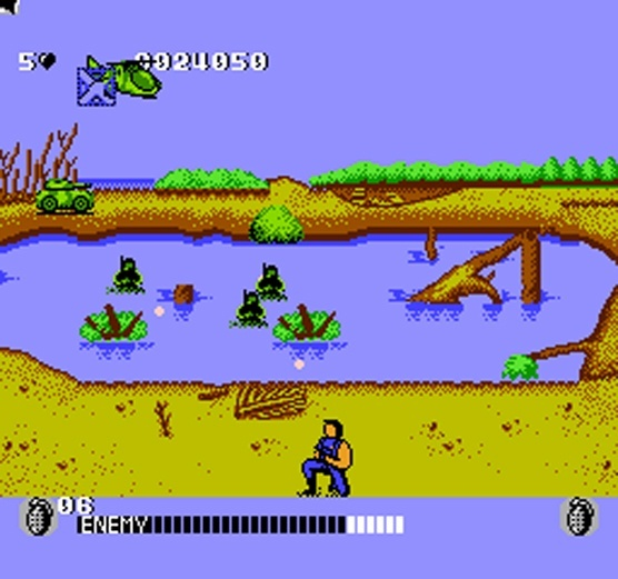 Screenshot for Cabal on NES