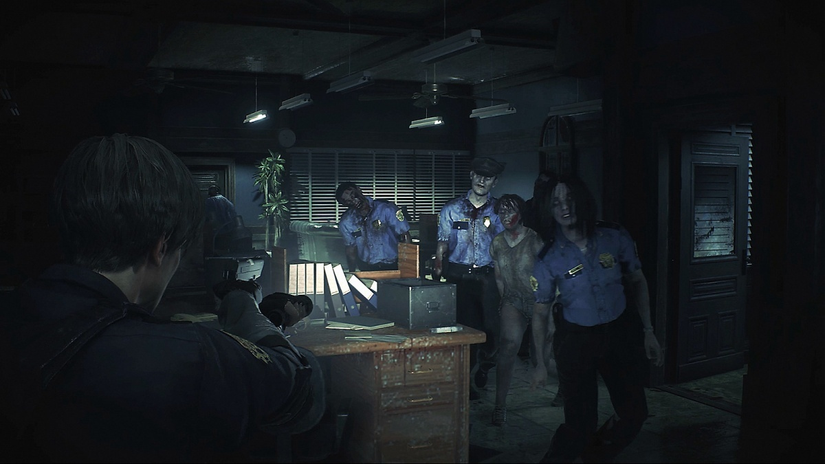 Screenshot for Resident Evil 2 on Xbox One