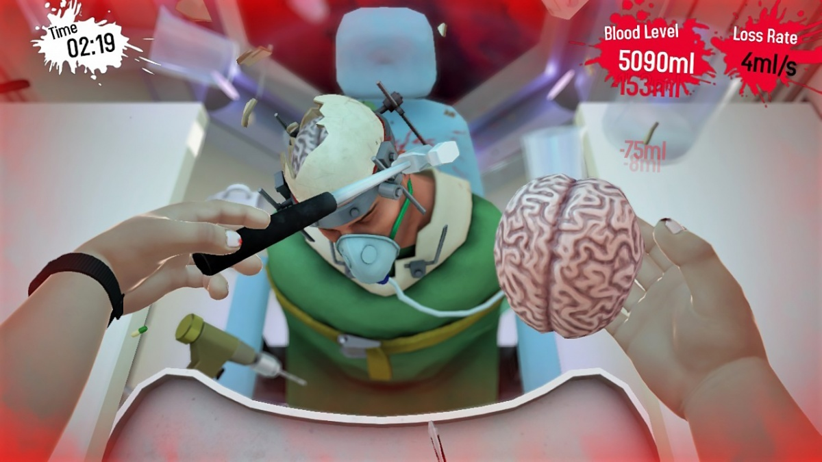 Screenshot for Surgeon Simulator CPR on Nintendo Switch