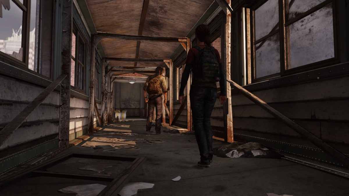 Screenshot for The Last of Us Remastered on PlayStation 4