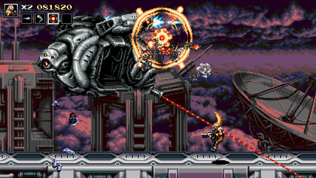 Screenshot for Blazing Chrome on PC