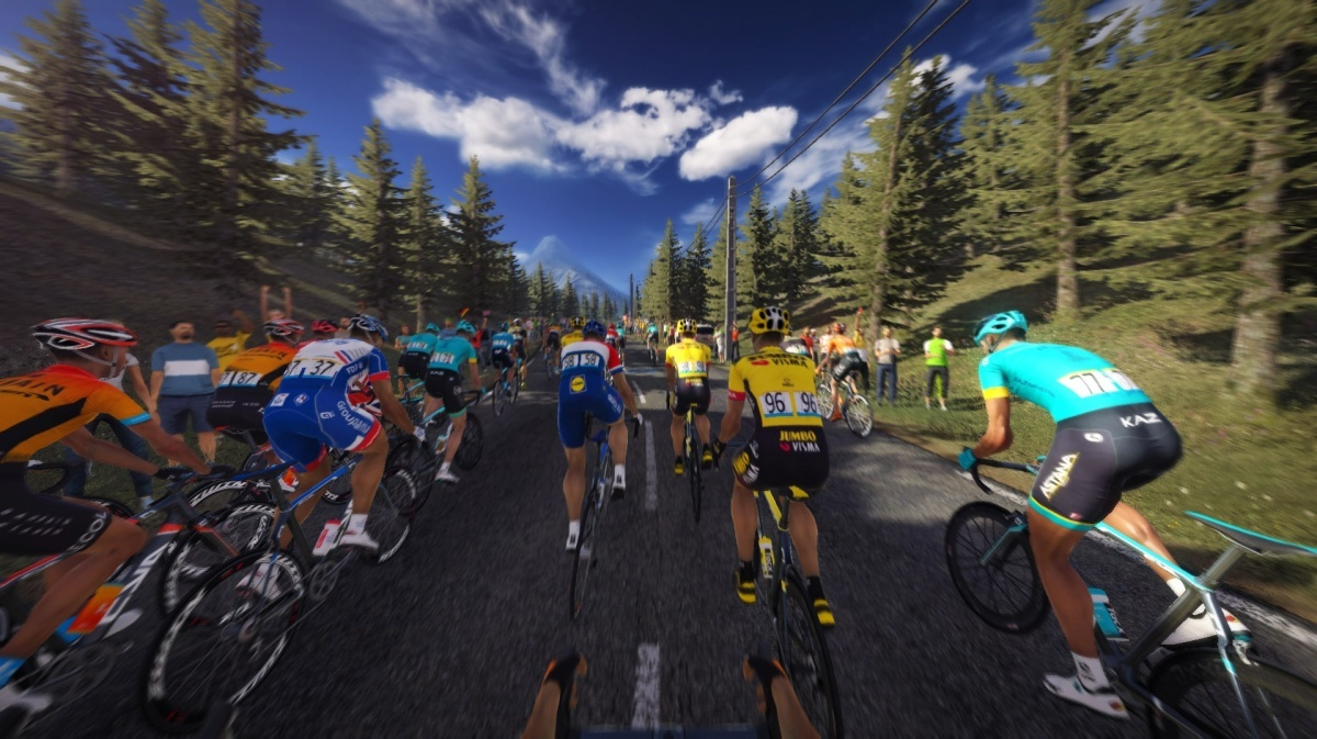 Screenshot for Tour de France 2020 on PlayStation 4