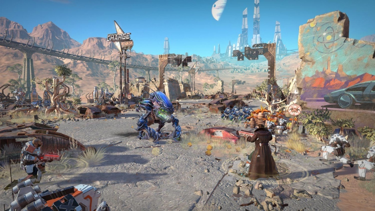 Screenshot for Age of Wonders: Planetfall on PC