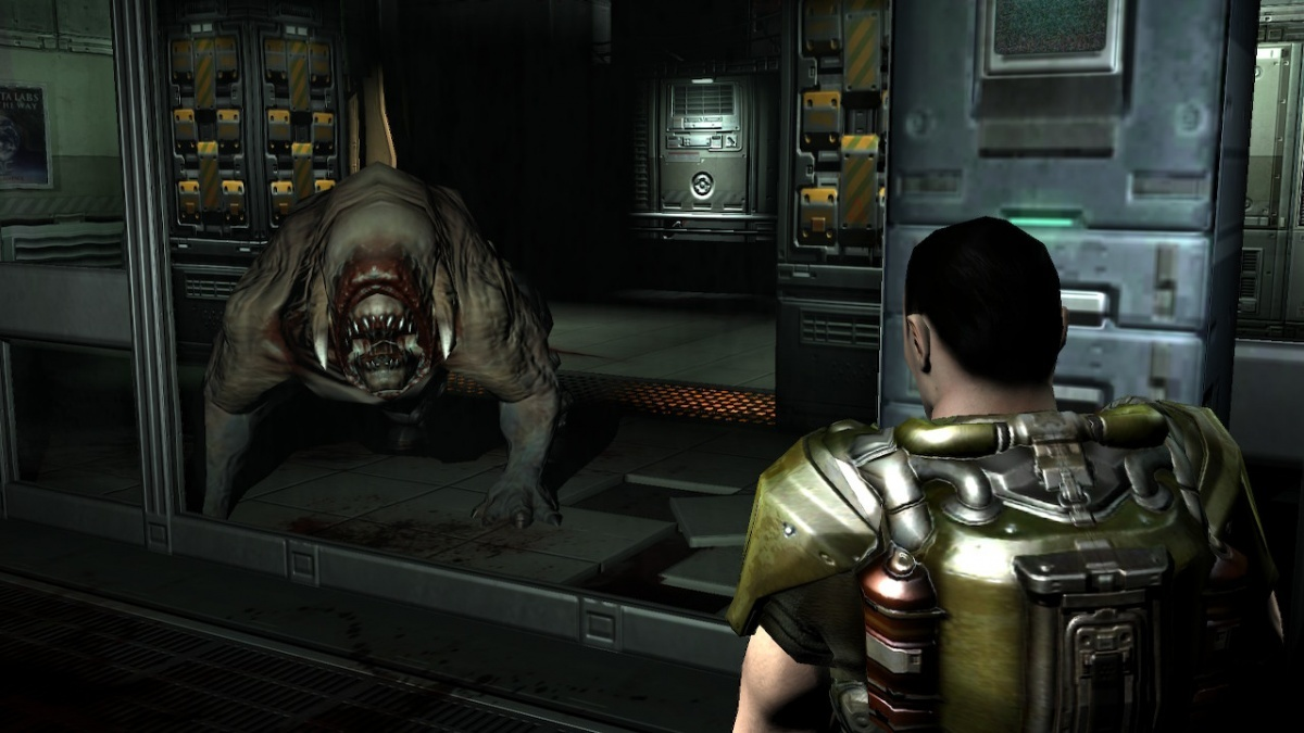 Screenshot for DOOM 3 on Nintendo Switch