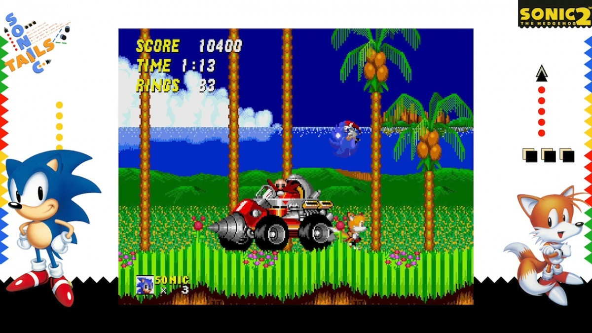 Screenshot for SEGA AGES Sonic The Hedgehog 2 on Nintendo Switch