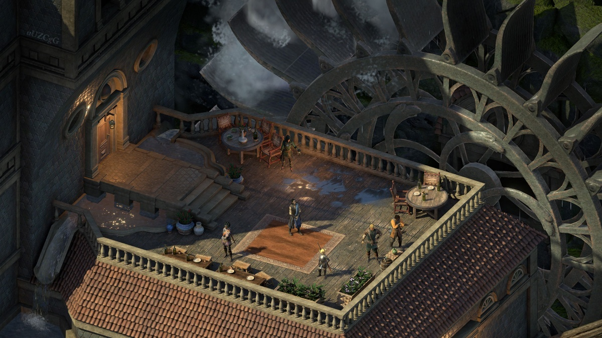 Screenshot for Pillars of Eternity II: Deadfire on PlayStation 4