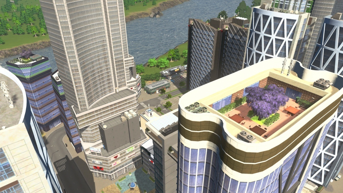 Screenshot for Cities: Skylines - Green Cities on PlayStation 4