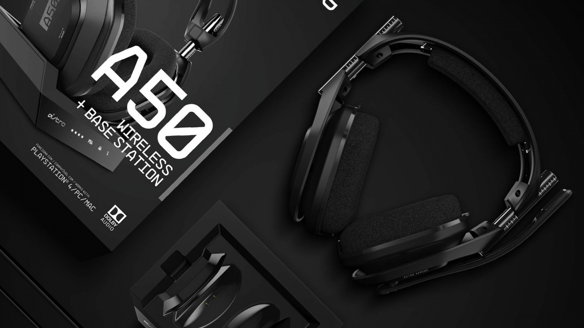 Image for Tech Up! Astro A50 Wireless Headset Review