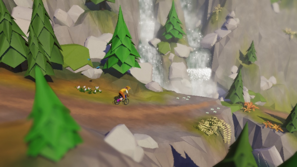 Screenshot for Lonely Mountains: Downhill on Nintendo Switch