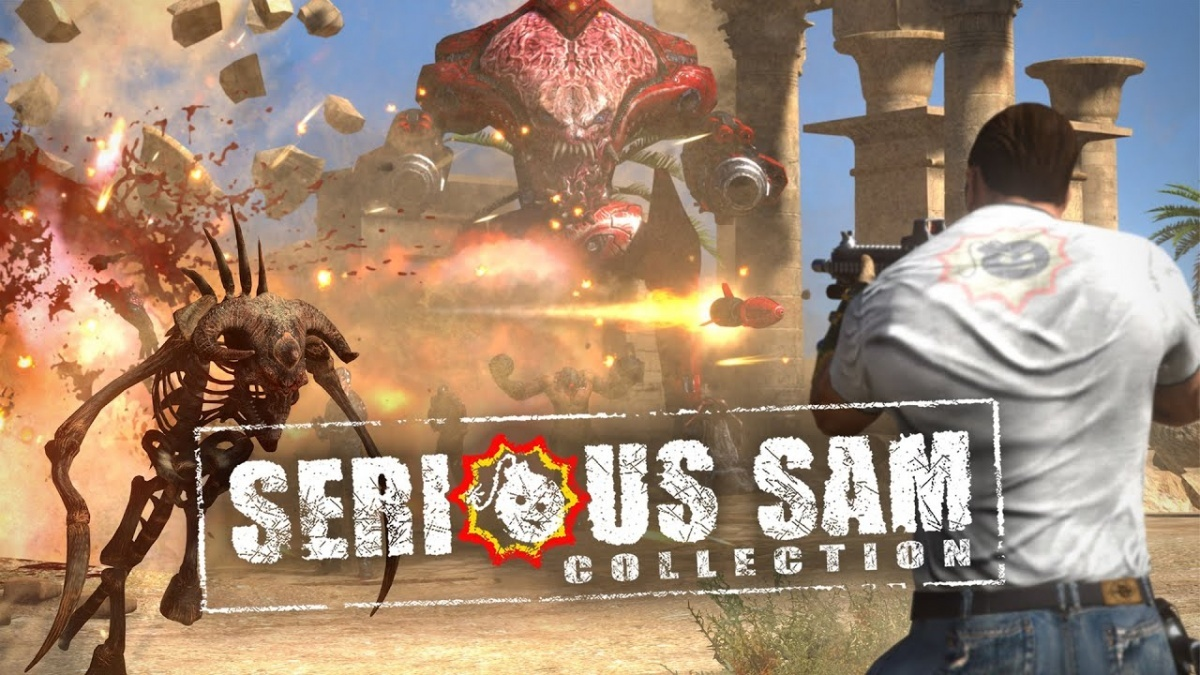 Screenshot for Serious Sam Collection on Nintendo Switch