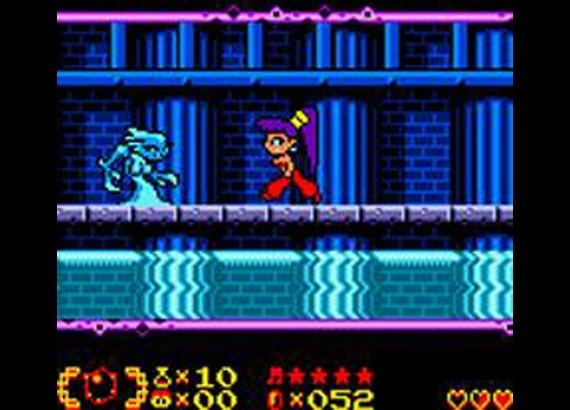 Screenshot for Shantae on Game Boy Color