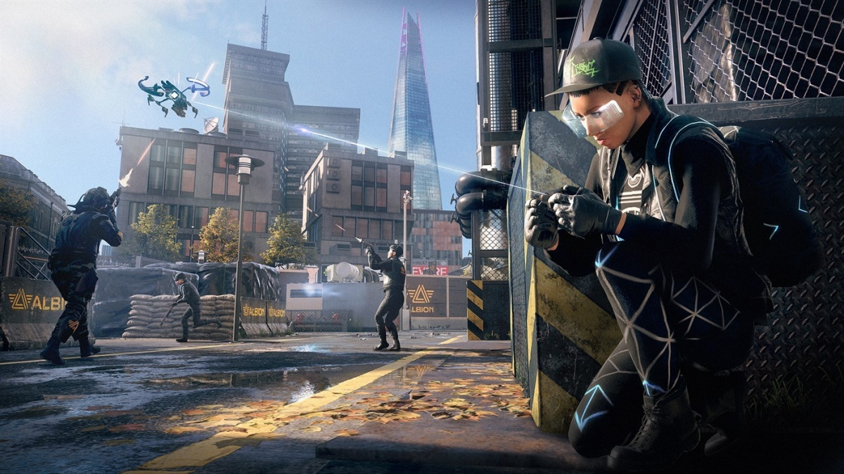 Screenshot for Watch Dogs: Legion  on PlayStation 4