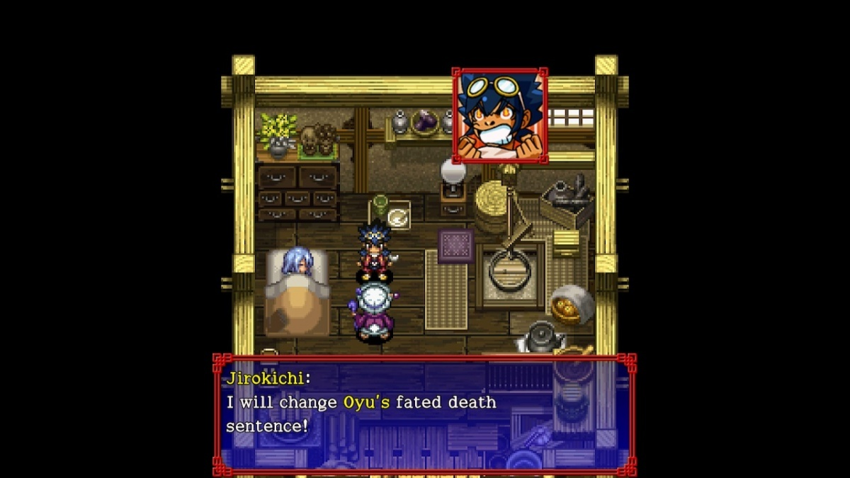 Screenshot for Shiren the Wanderer: The Tower of Fortune and the Dice of Fate on Nintendo Switch