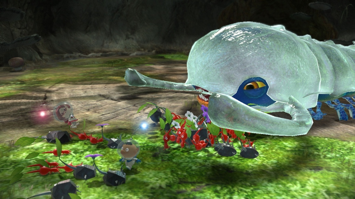 Screenshot for Pikmin 3 Deluxe on Nintendo Switch