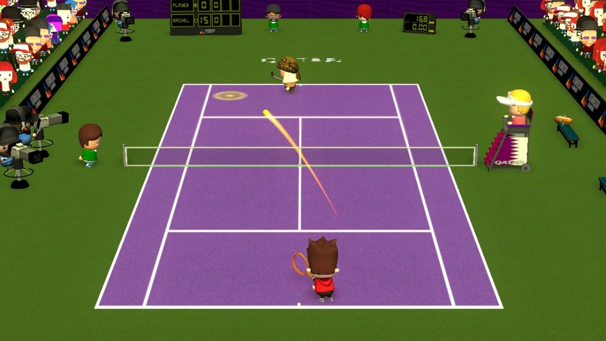 Screenshot for Smoots World Cup Tennis on Nintendo Switch
