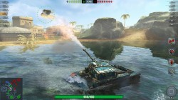 Screenshot for World of Tanks: Blitz  - click to enlarge