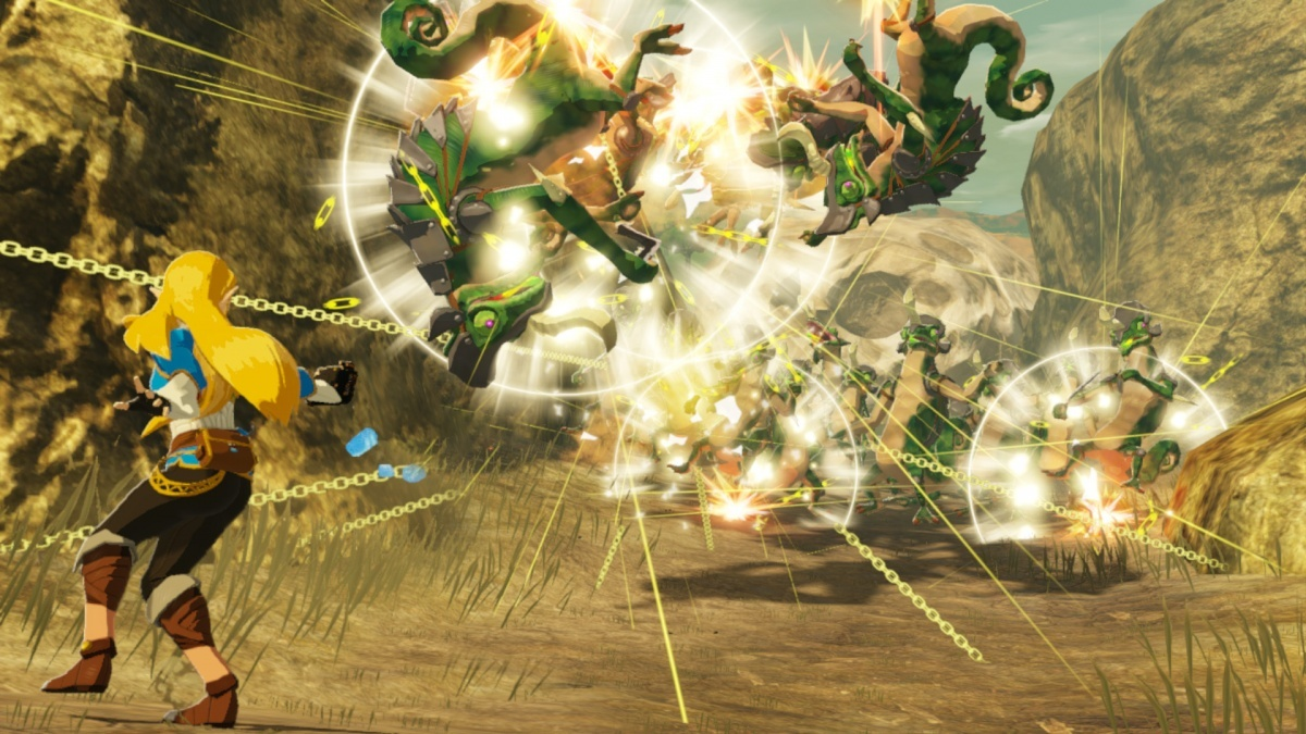 Screenshot for Hyrule Warriors: Age of Calamity on Nintendo Switch