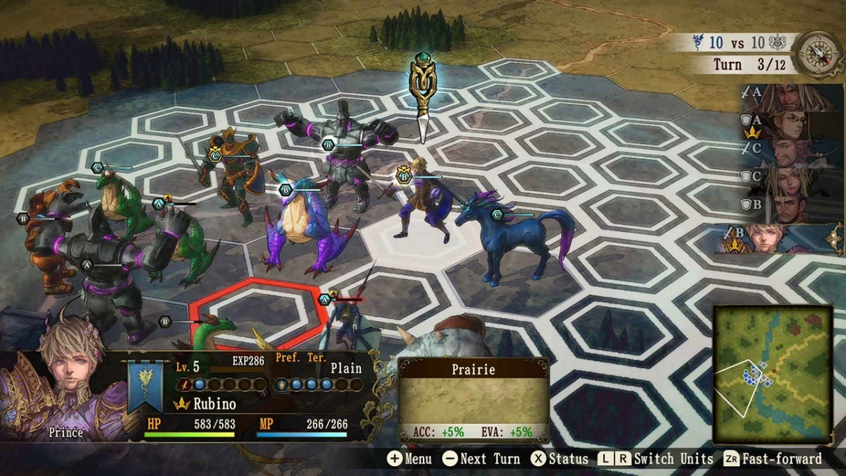 Screenshot for Brigandine: The Legend of Runersia on