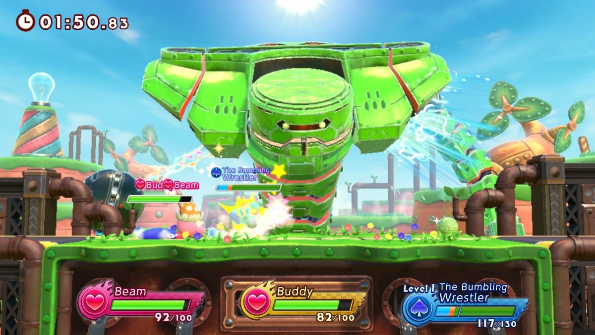 Screenshot for Kirby Fighters 2 on Nintendo Switch