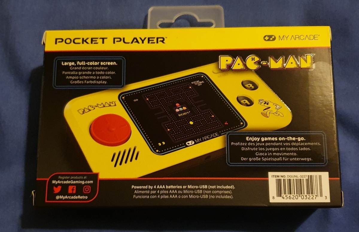 Image for Tech Up! My Arcade Pac-Man Pocket Player from Lost Universe (Review)