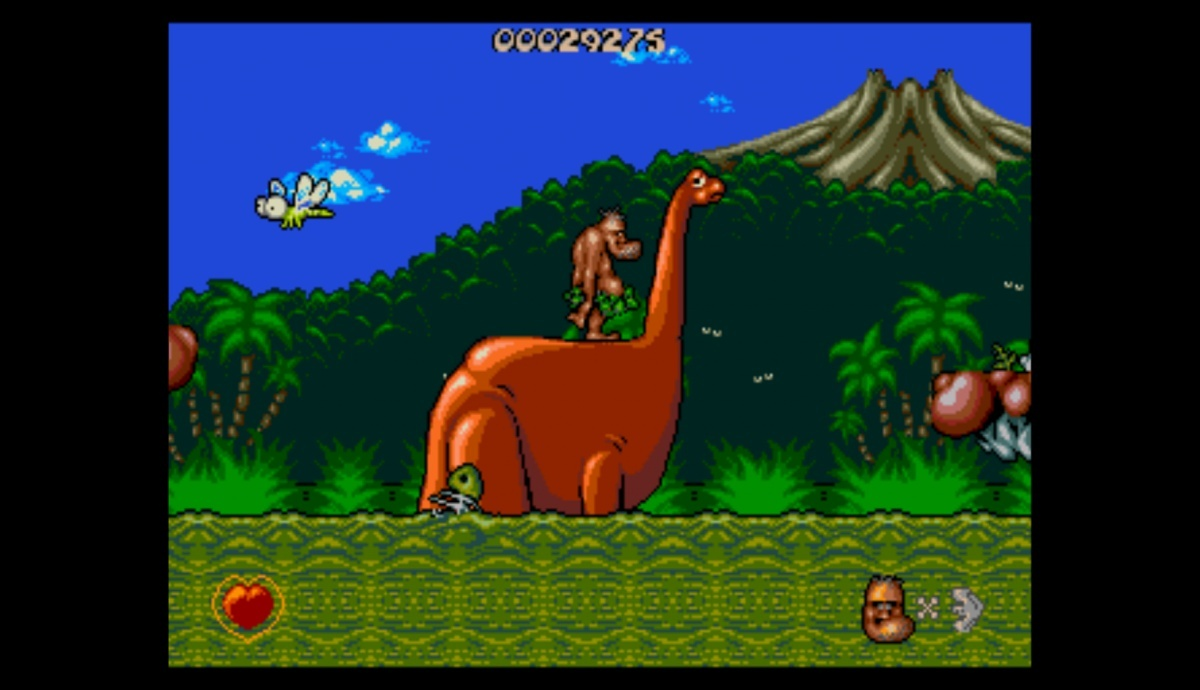 Screenshot for Chuck Rock on Mega Drive