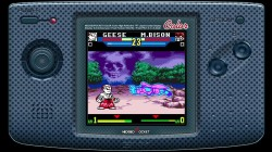 Screenshot for SNK vs. Capcom: The Match of the Millennium - click to enlarge