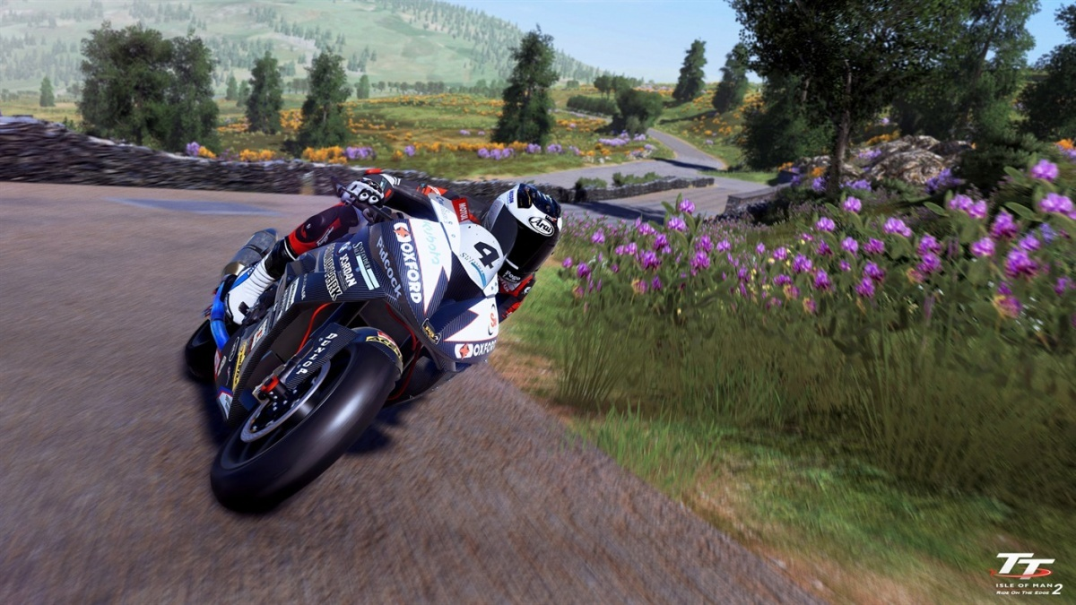 Screenshot for TT Isle of Man: Ride on the Edge 2 on PlayStation 4