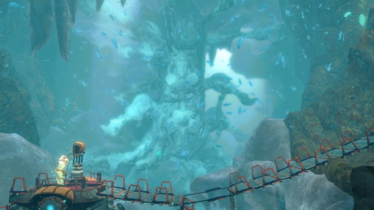 Screenshot for Shinsekai: Into the Depths on Nintendo Switch