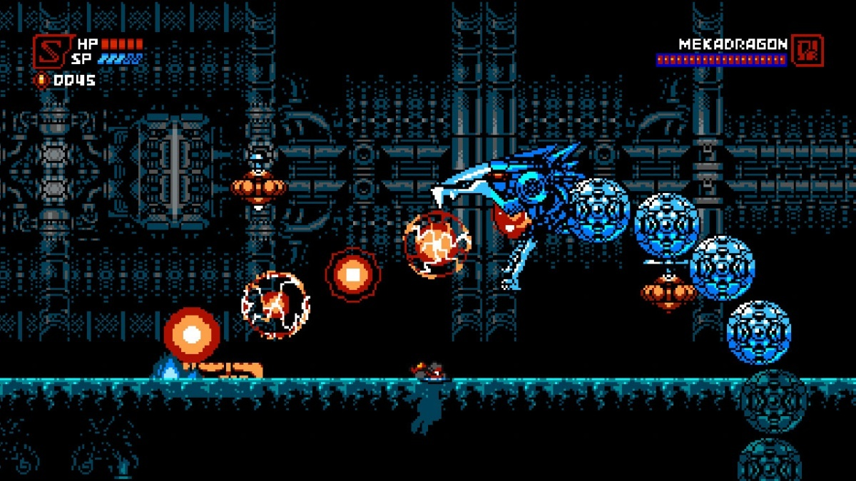 Screenshot for Cyber Shadow on PlayStation 4
