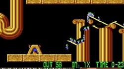 Screenshot for Lemmings - click to enlarge