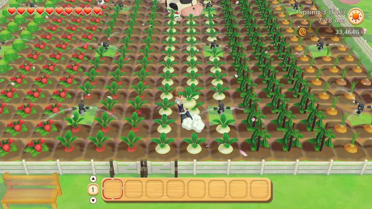 Screenshot for Story of Seasons: Pioneers of Olive Town on Nintendo Switch