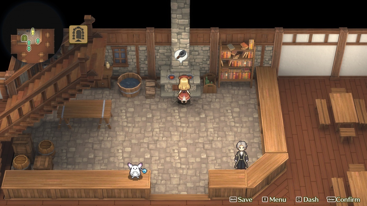 Screenshot for Marenian Tavern Story: Patty and the Hungry God on Nintendo Switch