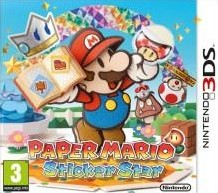 Box art for Paper Mario: Sticker Star