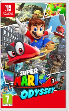 Box art for Super Mario Odyssey