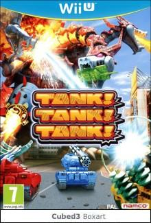 Box art for Tank! Tank! Tank!