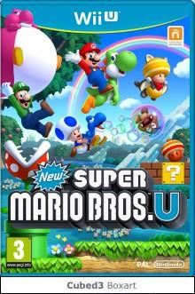 Box art for New Super Mario Bros. U