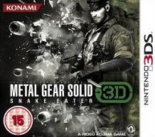 Box art for Metal Gear Solid: Snake Eater 3D