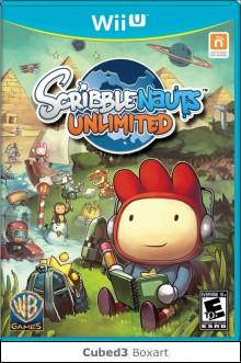 Box art for Scribblenauts Unlimited