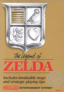 Box art for The Legend of Zelda