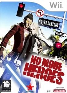 Box art for No More Heroes